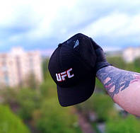 Кепка бейсболка мужская черная  UFC