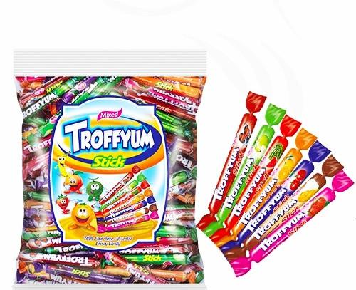 """Жувальні цукерки """"Troffyum"""" stick 1000 гр"""