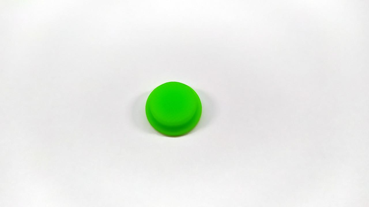 Резиновая накладка на кнопку для фонарей Convoy S2, S2+, C8, C8+ Цвет зеленый
