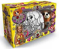 Детская сумочка раскраска с питомцем Щенок, Danko Toys RP-01-06