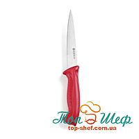 Нож обвалочный красный 150/300 HACCP Hendi 842522