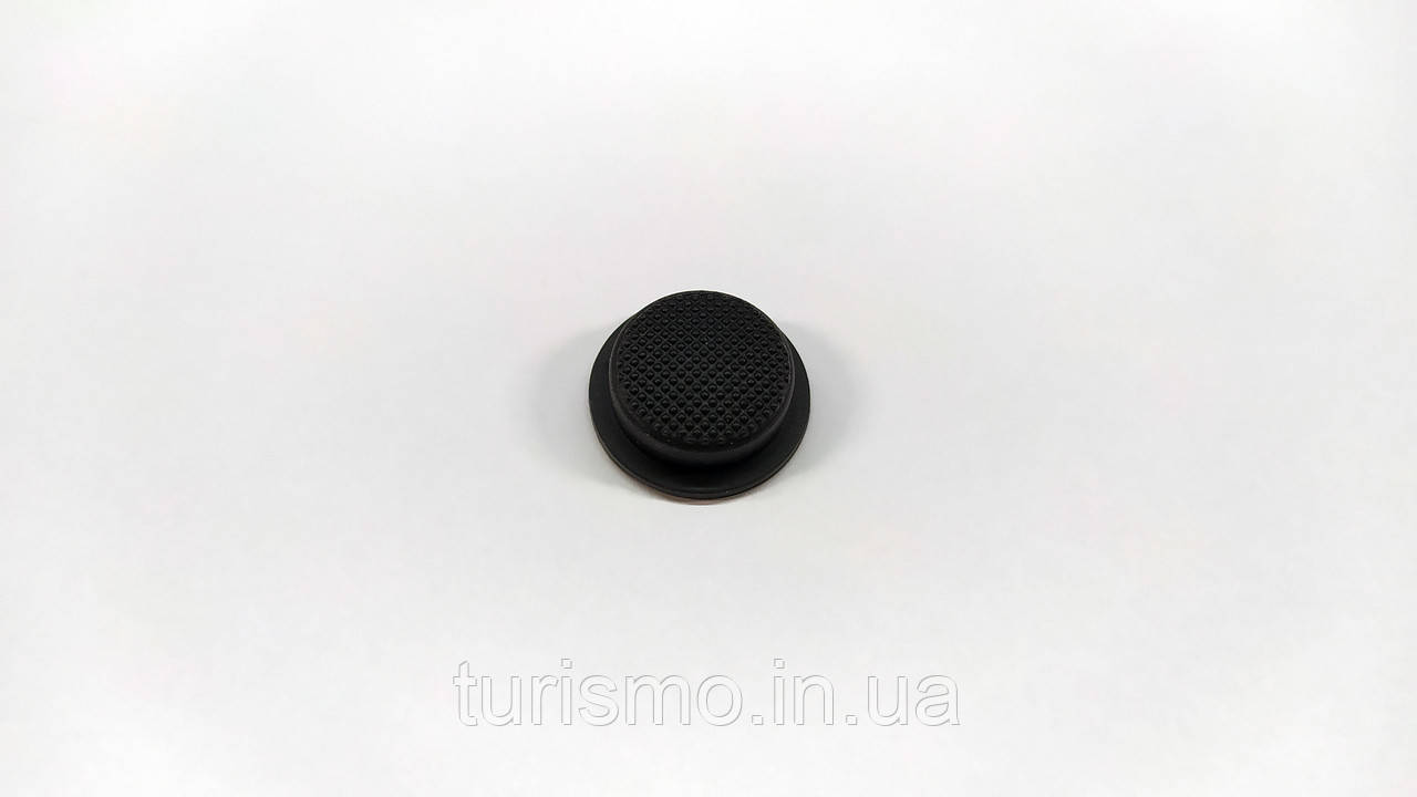 Резиновая накладка на кнопку для фонарей Convoy S2, S2+, C8, C8+ Цвет черный