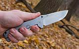 Нож складной Ganzo G722-BK черный, фото 8