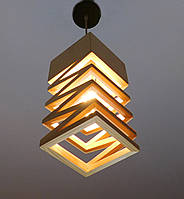 Подвесной светильник из первосортного дерева, текстуры дерева, современный стиль, натуральное дерево, loft
