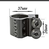 Крепление для фонарей алюм. 11 диам. 25мм, фото 3
