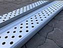 Пороги боковые (подножки профильные) Isuzu D-Max 2008-2011, фото 2