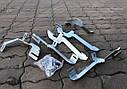 Пороги боковые (подножки профильные) Isuzu D-Max 2008-2011, фото 4