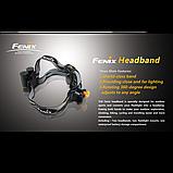 Наголовне кріплення для ліхтарів Fenix, фото 4