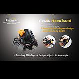 Наголовне кріплення для ліхтарів Fenix, фото 5