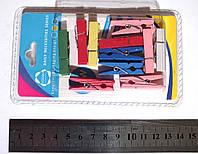 Набор цветных прищепок 3,5 см. 11 шт.