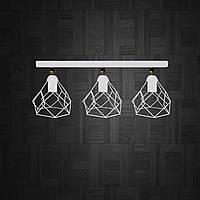 Настенный светильник, бра поворотное, потолочная лампа  RUBY/LS-3 белый