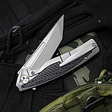 Нож складной Bestech Knife PREDATOR Grey BT1706B, фото 3
