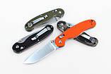 Нож складной Ganzo G727M черный, фото 3