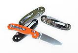 Нож складной Ganzo G727M черный, фото 4