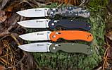 Нож складной Ganzo G727M черный, фото 8