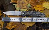 Нож складной Ganzo G727M черный, фото 9