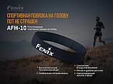 Повязка на голову Fenix AFH-10 черная, фото 4