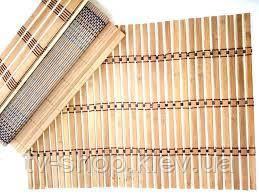 Бамбуковый коврик под горячее на стол, 30 х 40 см