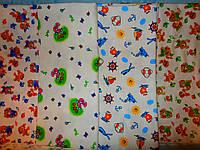 Пелёнка детская фланелевая (фланель, байковая, байка) (90*110)