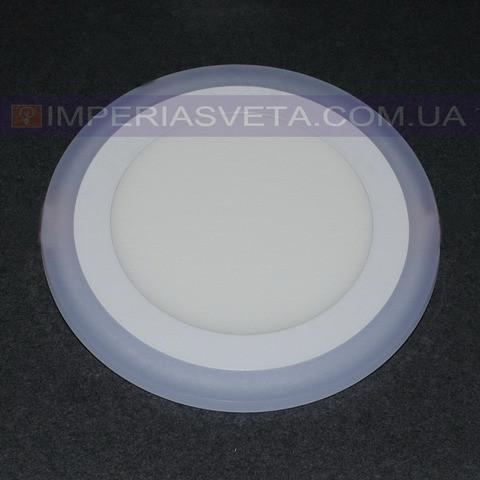 Светильник светодиодный дневного света IMPERIA панель 16W сверхтонкий круг RGB встраиваемый LUX-526553