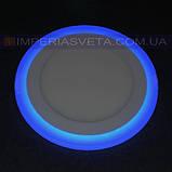 Светильник светодиодный дневного света IMPERIA панель 16W сверхтонкий круг RGB встраиваемый LUX-526553, фото 2