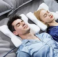 Подушка для шеи из пены с эффектом памяти изогнутая , подушка туннель