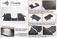 Volkswagen T4 Резиновые коврики Stingray Premium 2 штучные