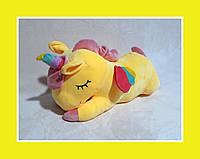Игрушка Детский Плед ЕДИНОРОГ Желтый