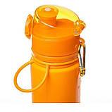 Пляшка силікон 700ml Tramp TRC-094-orange, фото 3