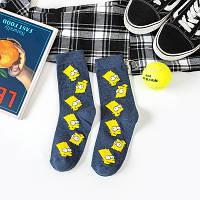 Шкарпетки носки Барт Сімпсон