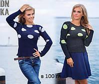 Женский модный свитер В 100 гл