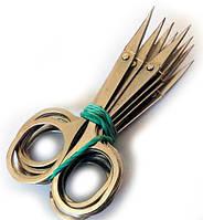 Ножницы маникюрные цельнометаллические, ручная заточка