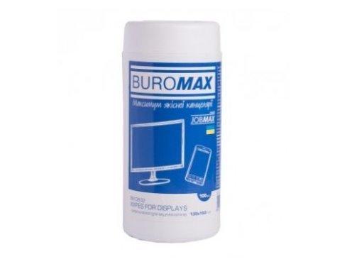 Салфетки Buromax для экранов и оптики ВМ.0802 (12)