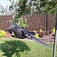 Ворон для отпугивания птиц с крыльями, фото 2