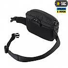 M-Tac сумка поясная черная Tactical Waist Bag Elite Hex Black, фото 5