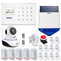 Комплект GSM сигнализации Kerui G18 maxi plus (YDUJF78DKNNND)