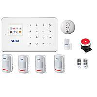 Беспроводная GSM сигнализации Kerui G18 для 4-х комнатной квартиры (GDJJFH78FKIIF)
