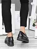 Туфли лоферы кожа Maxi 7002-28, фото 4
