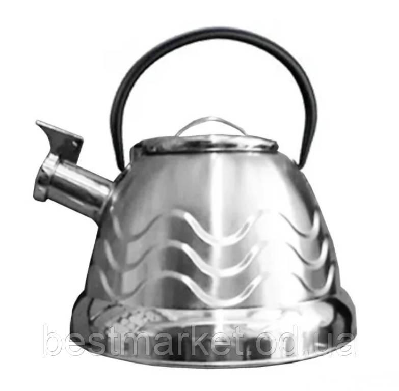 Чайник со Свистком Rainberg RB-723 на 3.0л