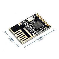 Радиомодуль NRF24L01 мини + 2.4 ГГц для Arduino (Ардуино)