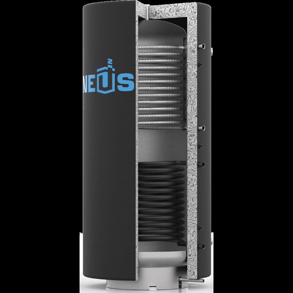 Теплоаккумулятор Неус ТА2 1500 л с двумя теплообменникам