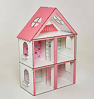 Кукольный домик для Барби NestWood Стандарт без мебели (kdb004)