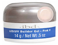 LED/UV Builder Gel Pink V, 14 мл. - конструирующий камуфлирующий розовый гель