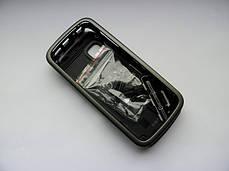 Корпус для Nokia 5230 5228 чёрный с кнопками AAA, фото 2