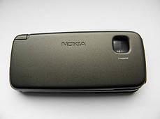 Корпус для Nokia 5230 5228 чёрный с кнопками AAA, фото 3