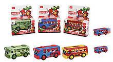 Автобус 6958-3 С (288/2) 3 вида, в коробке