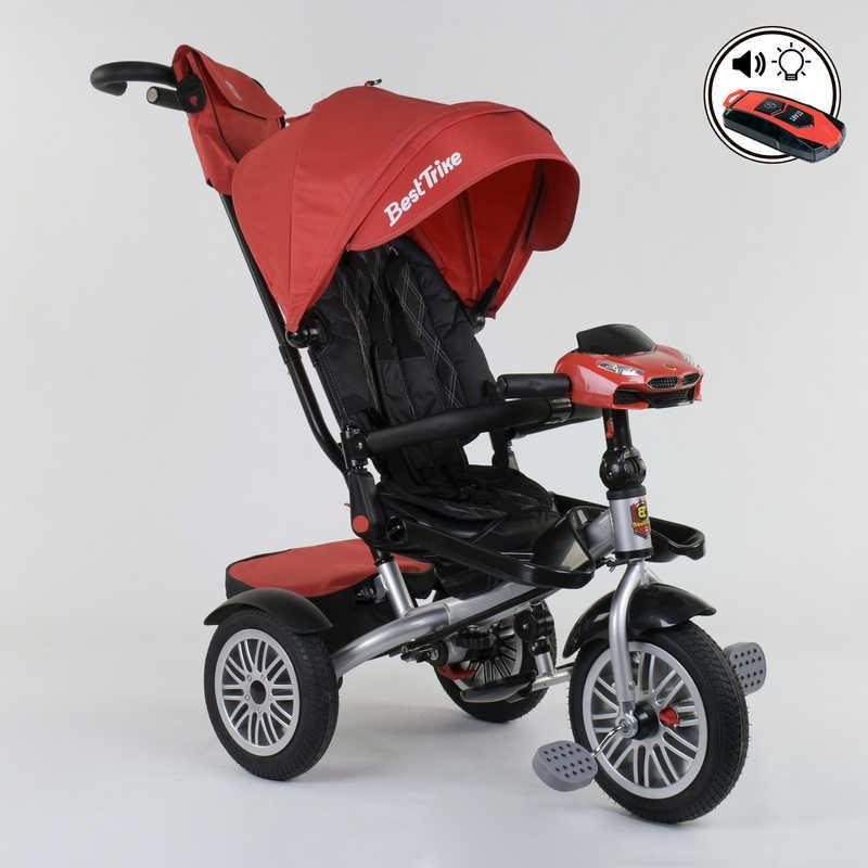 Велосипед 3-х колёсный 9288 В - 3696 Best Trike (1) ПОВОРОТНОЕ СИДЕНЬЕ, СКЛАДНОЙ РУЛЬ, РУССКОЕ ОЗВУЧИВАНИЕ,