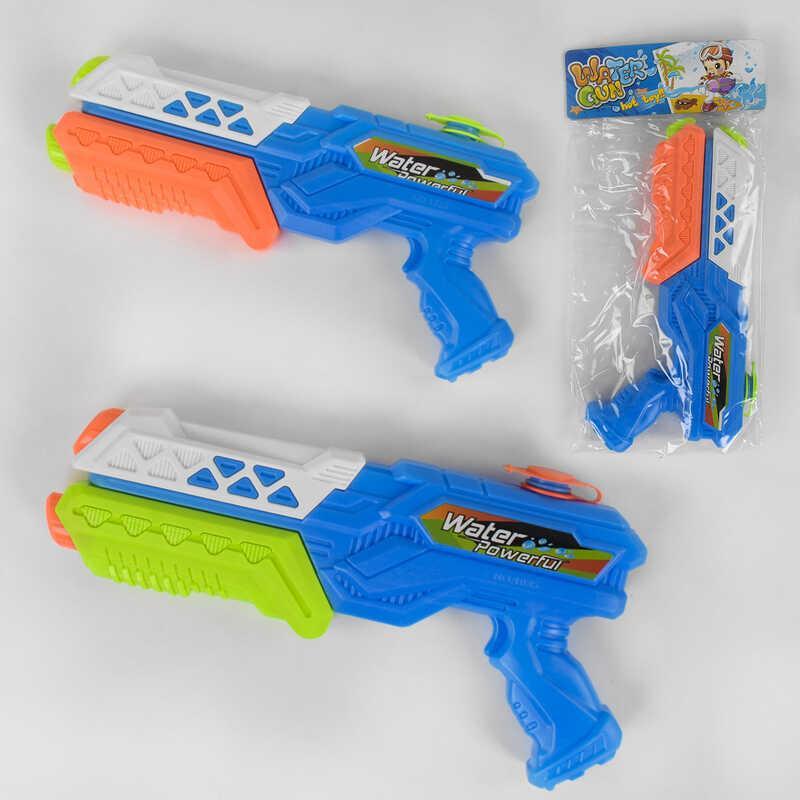 Водный пистолет 1035 (144/2) 2 цвета, с насосом, в кульке