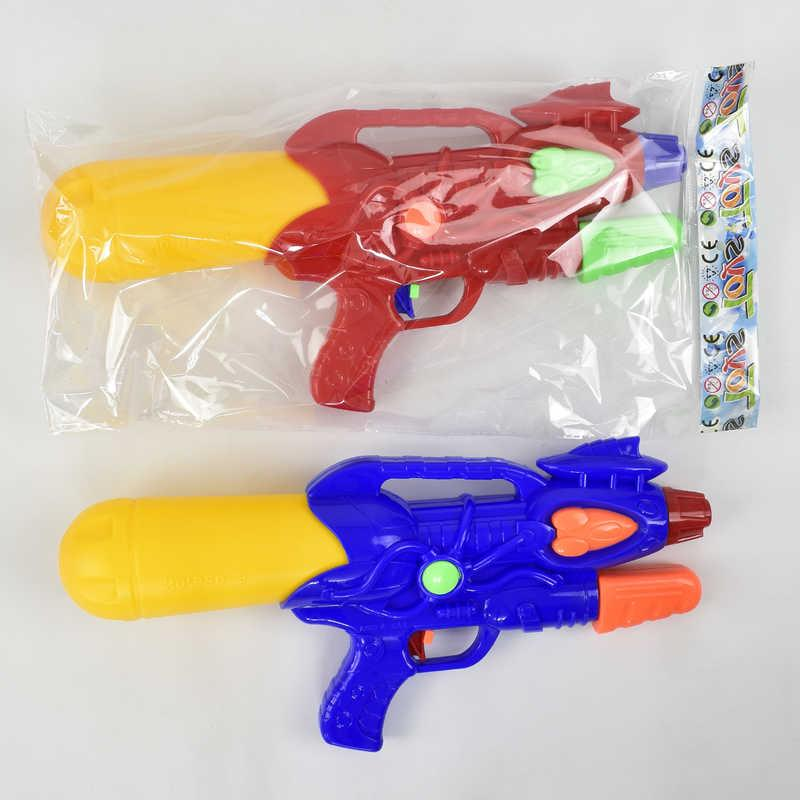 Водный пистолет 920-3 (84/2) с насосом, 2 цвета, в кульке