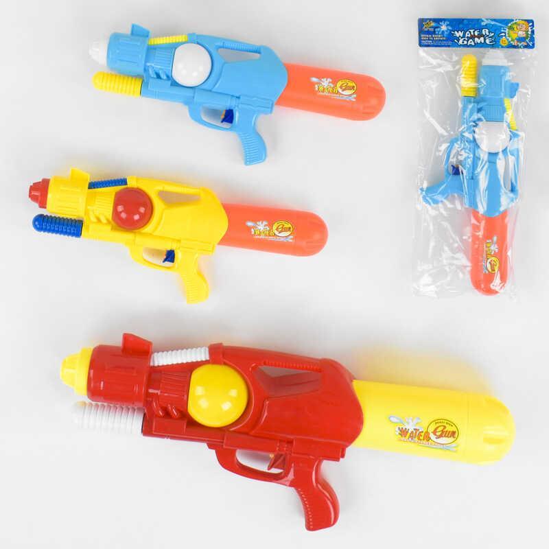 Водный пистолет с накачкой М 127 (60/2) 3 вида, в кульке
